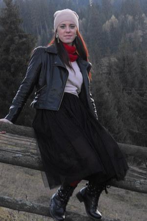 tidebuy boots - Sheinside jacket