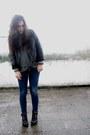 Black-stradivarius-jacket-black-primark-boots-periwinkle-vintage-jumper-bl