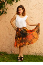 chiffon Bea Villasuso Me skirt