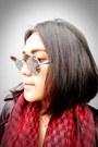 Ruby-red-keffiyeh-unbranded-scarf-black-biker-unknown-jacket