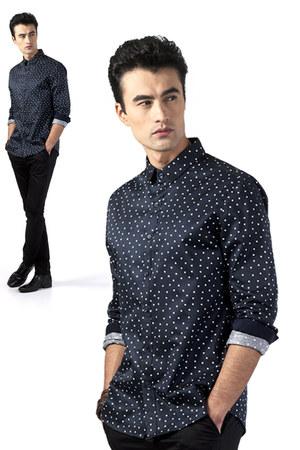 BLACK OUTLINES shirt