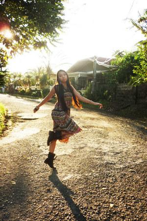 kultura dress - Primadonna boots