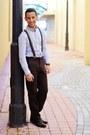 Leather-aldo-boots-stripes-pacsun-shirt-suspenders-h-m-accessories