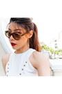 Ted-lapidus-sunglasses-charles-keith-heels