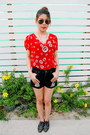 Necklace-oxford-zara-shoes-shorts-ray-ban-sunglasses-ring-zara-top