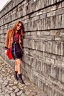 Lace-up-boots-aldo-boots-k-first-blazer-red-tartan-zalora-shirt-shirt