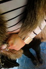 Zara-leggings-aldo-boots-hat-h-m-top-zara-vest-bracelet