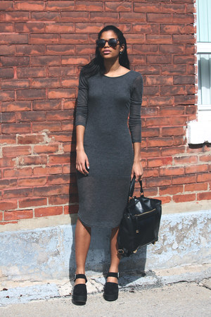heather gray Urban Outfitters dress