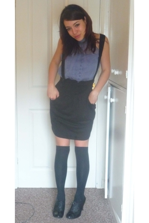 Camden Market shirt - H&M via thrifting skirt - Primark shorts