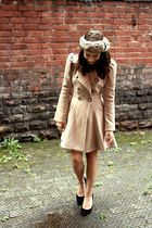 beige next coat - brown Primark accessories