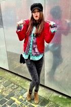 Zara blouse - Mango blazer - Accessorize bag
