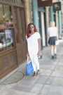 White-topshop-jeans-blue-everyday-bag-zara-bag-sunglasses-next-sunglasses