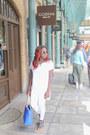White-topshop-jeans-blue-everyday-bag-zara-bag-sunglasses-next-sunglasses