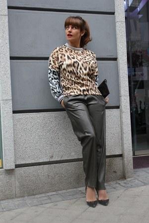 imperio clandestino bag - Zara pants - Christian Louboutin heels