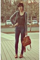 tawny Isadora bag - burnt orange Nostalgic shoes - black H&M Trend shirt