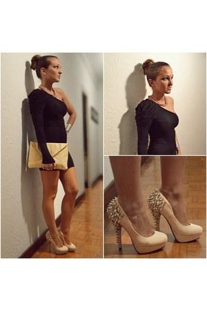 Nelly bag - Bershka dress - Nelly heels