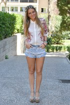 Bershka shirt - Bershka shorts - Andreas Zapateria sandals
