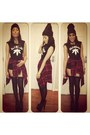 Foreign-exchange-boots-black-beanie-urban-outfitters-hat-forever-21-top
