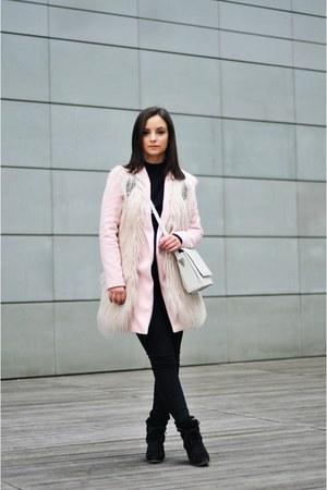 light pink reserved vest