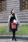 Black-c-a-blouse-maroon-zara-skirt