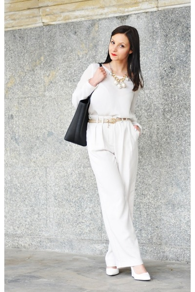 Michael Kors bag - Zara blouse