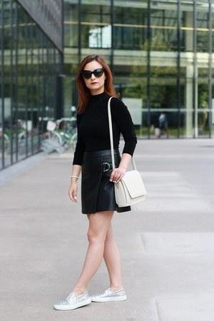 black Mohito skirt - black brylove glasses - silver Georgia Rose sneakers