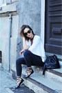 Black-brylove-sunglasses-white-zara-blouse-black-diy-necklace