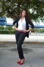 Black-zara-blazer-white-studio-f-blouse