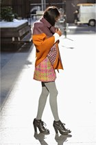 cape-jacket Missoni cape - black Miu Miu boots - ivory Joseph A sweater