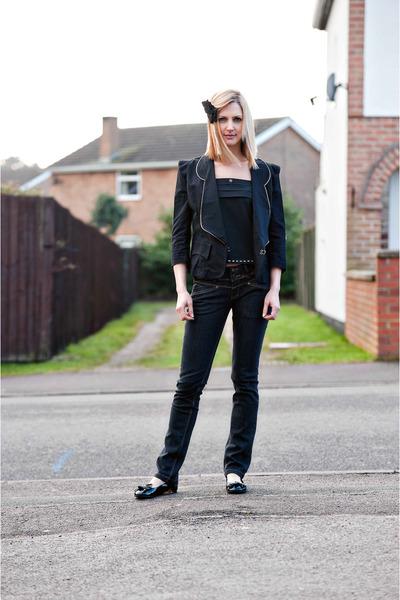 navy Duty Free jeans - black Cutie jacket - black Be Gorgeous accessories - blac