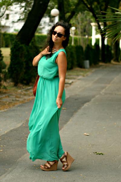 OASAP dress - Esprit sunglasses - Aldo wedges