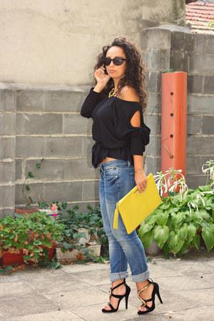 LTB jeans - GiGi New York bag - Polaroid sunglasses