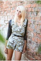 army green army Beatrice Gale shirt - army green army Beatrice Gale shorts