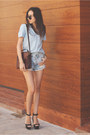 Bag-shorts-sunglasses-top-sandals