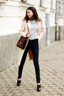 Shoes-neutral-coat-jeans-sweater-bag-necklace