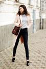 Shoes-neutral-coat-jeans-sweater-bag-necklace
