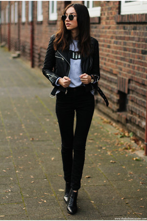 jacket - shoes - jeans - sweatshirt
