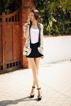 Sheinside blazer - Sheinside shorts