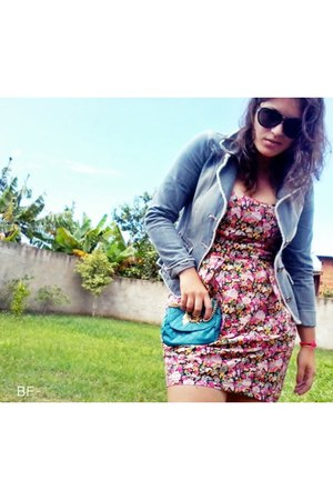 turquoise blue bag