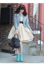 Aquamarine-jeffery-campbell-boots-cream-dahl-clothes-dress
