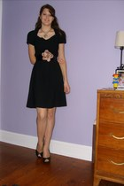 Saks Fifth avenue dress - xhilaration shoes - Charlotte Russe belt - Platos Clos