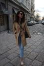 Wool-zara-coat-light-wash-h-m-jeans-black-leather-michael-kors-bag