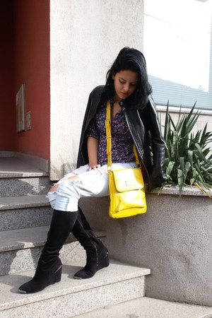 Stradivarius jeans - Mona bag