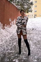 faux fur zaful coat