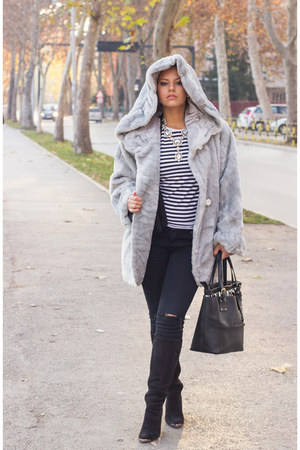 Deichmann boots - Orsay jeans - david jones bag
