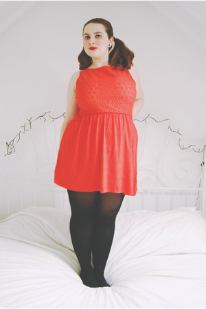 red sundress Primark dress