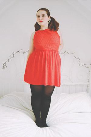 red sundress Primark dress