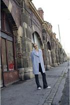 OASAP coat - zeroUV sunglasses - New Yorker pants - Adidas sneakers