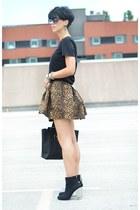 Zara skirt - Zara boots