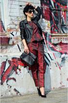 H&M Trend pants - Primark shoes - Sheinside jacket - Zara bag